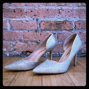 Gorgeous Crystal-Embellished Heels